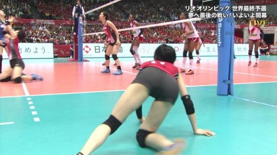 女子バレーボール日本代表の開脚股間とお尻キャプ 画像43枚 11