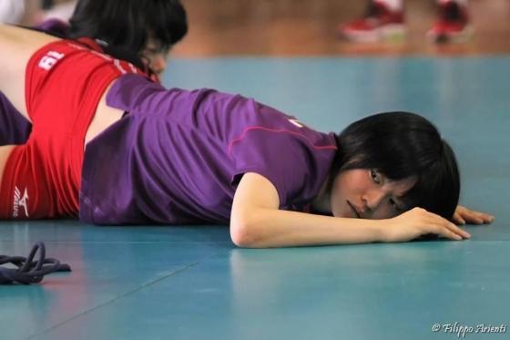 女子バレーボール日本代表の開脚股間とお尻キャプ 画像43枚 13