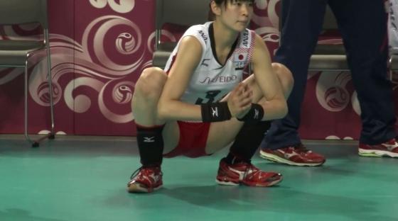 女子バレーボール日本代表の開脚股間とお尻キャプ 画像43枚 2