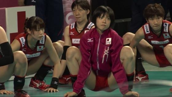 女子バレーボール日本代表の開脚股間とお尻キャプ 画像43枚 3