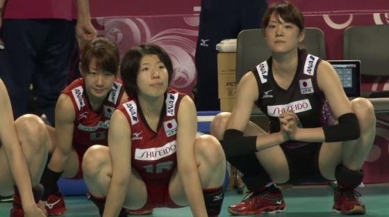 女子バレーボール日本代表の開脚股間とお尻キャプ 画像43枚 6