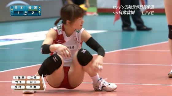 女子バレーボール日本代表の開脚股間とお尻キャプ 画像43枚 8