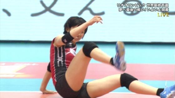 女子バレーボール日本代表の開脚股間とお尻キャプ 画像43枚 9
