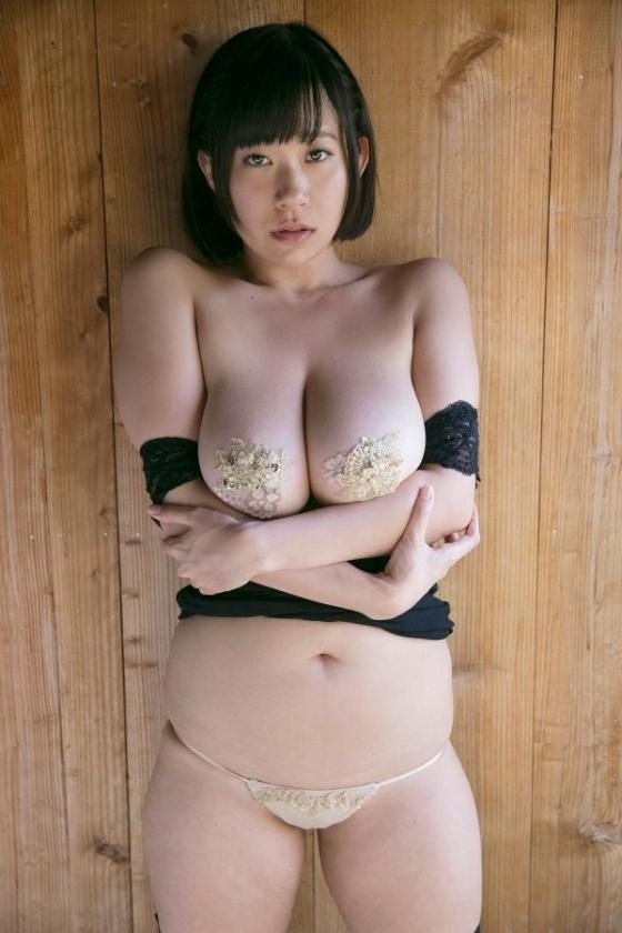 日比谷亜美 ミルキー・グラマーの垂れ乳Iカップ爆乳キャプ 画像53枚 9