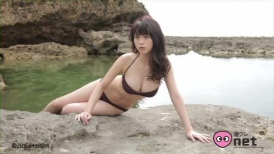 馬場ふみか ヤングジャンプ最新号のEカップ谷間水着姿 画像37枚 10