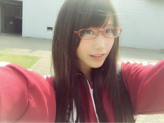加藤里保菜 メガネなしでも可愛い美少女自画撮り 画像30枚 6