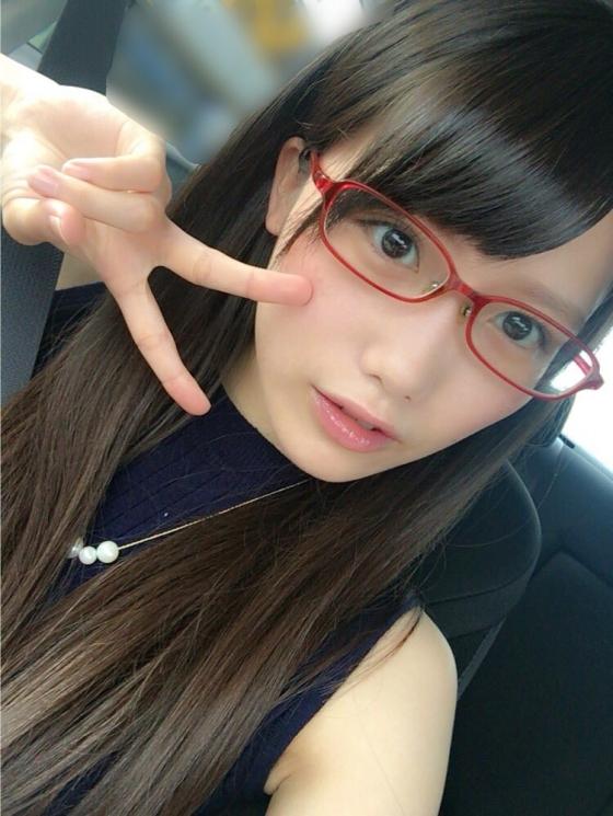 加藤里保菜 メガネなしでも可愛い美少女自画撮り 画像30枚 9