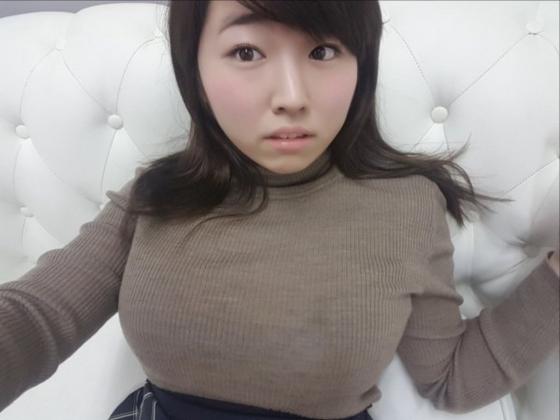 松本菜奈実 Iカップ爆乳の谷間を自画撮りで披露 画像28枚 5