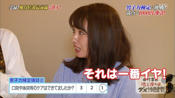 山田菜々 風俗潜入でプレイ中の男子力チェックキャプ 画像27枚 22