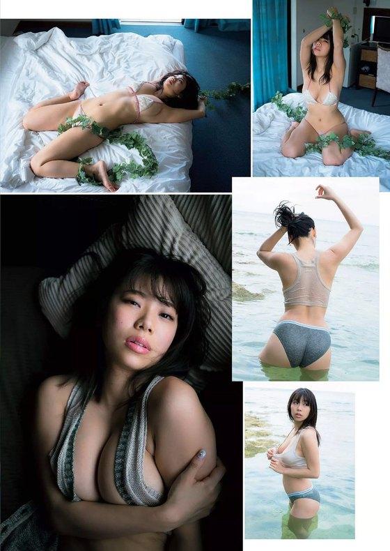 鈴木ふみ奈 週プレの全裸風Hカップビキニグラビア 画像59枚 3