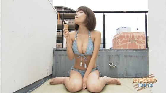菜乃花 Iカップ爆乳が凄いランク王国キャプ 画像30枚 23