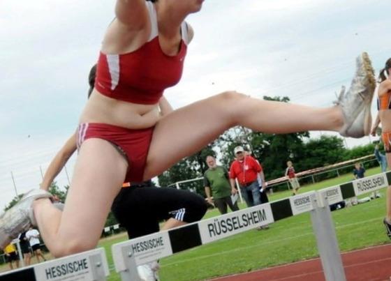 女子陸上ハードル選手の股間と太ももに注目 画像31枚 1