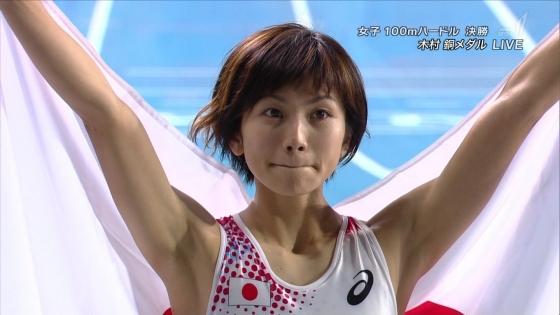 木村文子 マン筋股間と全開腋が凄いハードル競技キャプ 画像29枚 15