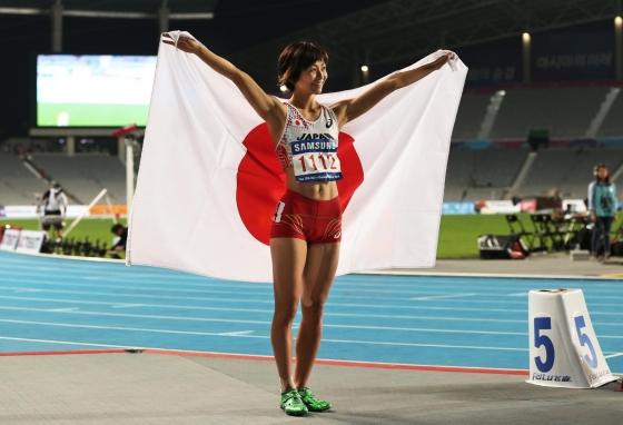 木村文子 マン筋股間と全開腋が凄いハードル競技キャプ 画像29枚 16
