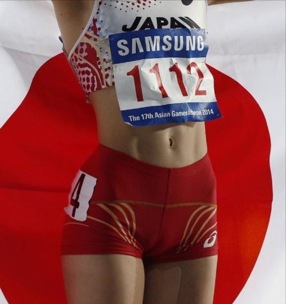 木村文子 マン筋股間と全開腋が凄いハードル競技キャプ 画像29枚 17