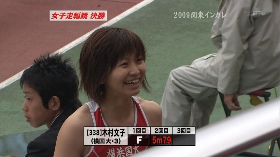木村文子 マン筋股間と全開腋が凄いハードル競技キャプ 画像29枚 23