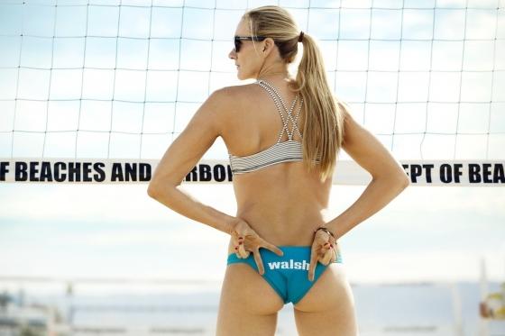 女子ビーチバレー選手のビキニ食い込みお尻&股間 画像33枚 12