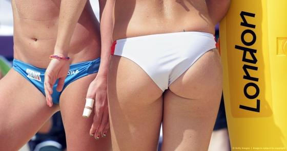 女子ビーチバレー選手のビキニ食い込みお尻&股間 画像33枚 6