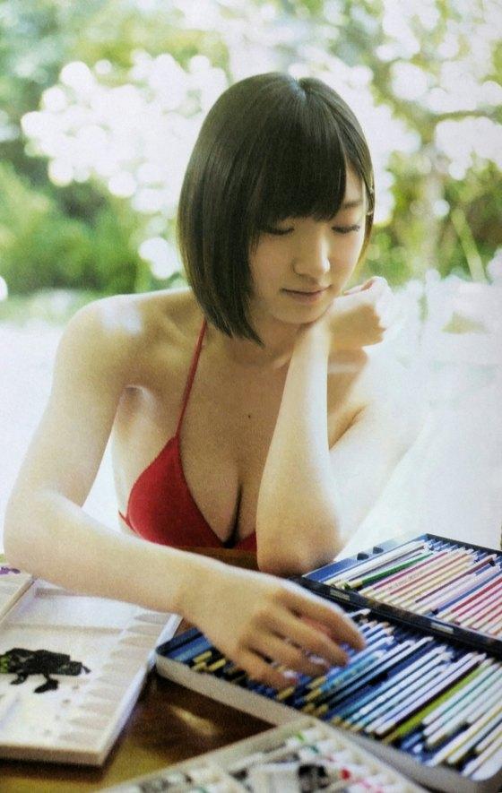 太田夢莉 月刊エンタメの水着姿Dカップ谷間グラビア 画像27枚 5