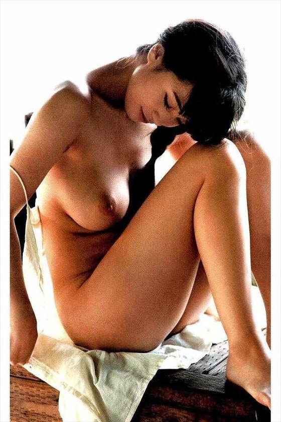 高崎聖子 週刊現代袋とじの写真集先行ヘアヌード 画像9枚 5