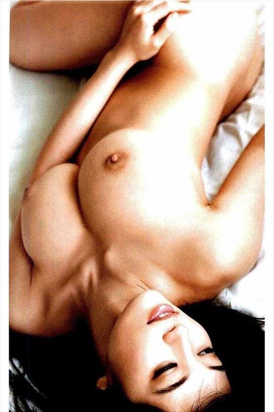 高崎聖子 週刊現代袋とじの写真集先行ヘアヌード 画像9枚 6