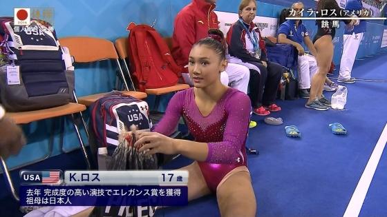 女子体操選手のお尻&股間食い込みキャプ 画像47枚 13