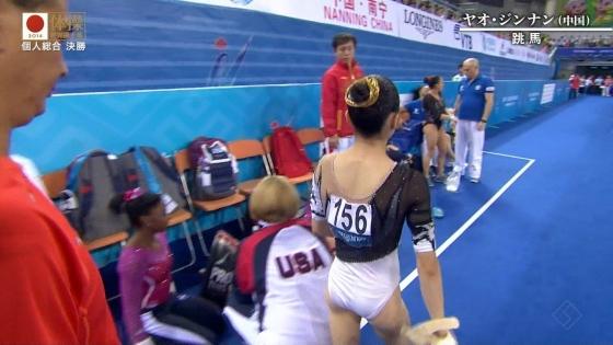 女子体操選手のお尻&股間食い込みキャプ 画像47枚 15