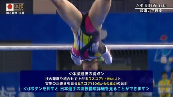 女子体操選手のお尻&股間食い込みキャプ 画像47枚 17