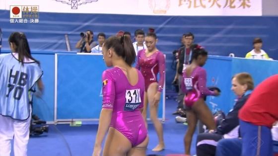 女子体操選手のお尻&股間食い込みキャプ 画像47枚 37