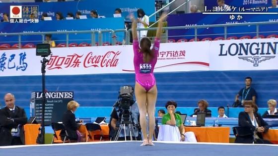 女子体操選手のお尻&股間食い込みキャプ 画像47枚 39