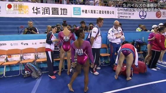 女子体操選手のお尻&股間食い込みキャプ 画像47枚 45