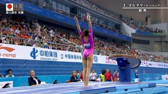 女子体操選手のお尻&股間食い込みキャプ 画像47枚 6