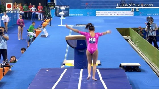 女子体操選手のお尻&股間食い込みキャプ 画像47枚 8