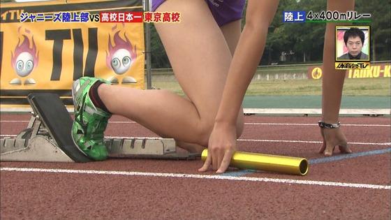 炎の体育会TVの東京高校女子陸上部員腹筋&太ももキャプ 画像22枚 21