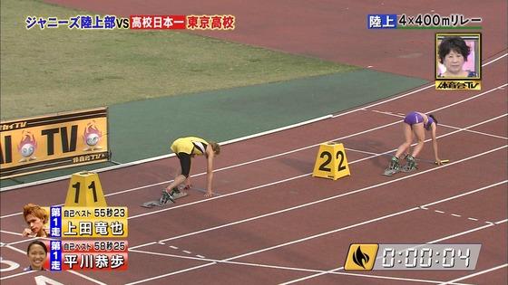 炎の体育会TVの東京高校女子陸上部員腹筋&太ももキャプ 画像22枚 23