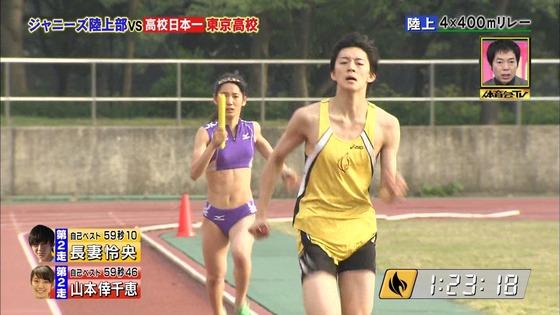 炎の体育会TVの東京高校女子陸上部員腹筋&太ももキャプ 画像22枚 24