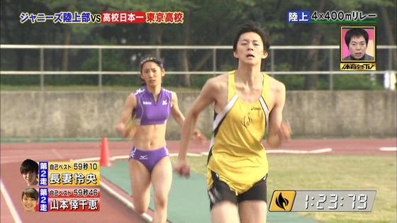 炎の体育会TVの東京高校女子陸上部員腹筋&太ももキャプ 画像22枚 25
