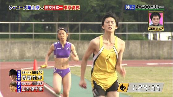 炎の体育会TVの東京高校女子陸上部員腹筋&太ももキャプ 画像22枚 26