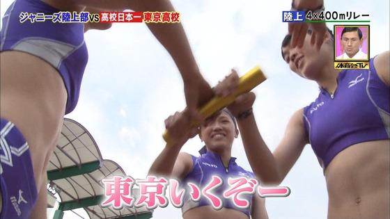 炎の体育会TVの東京高校女子陸上部員腹筋&太ももキャプ 画像22枚 3