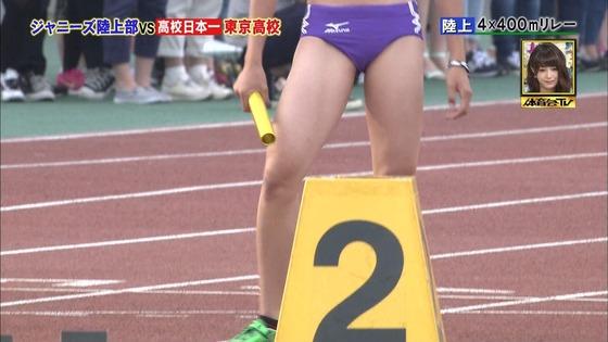 炎の体育会TVの東京高校女子陸上部員腹筋&太ももキャプ 画像22枚 7