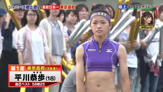 炎の体育会TVの東京高校女子陸上部員腹筋&太ももキャプ 画像22枚 8