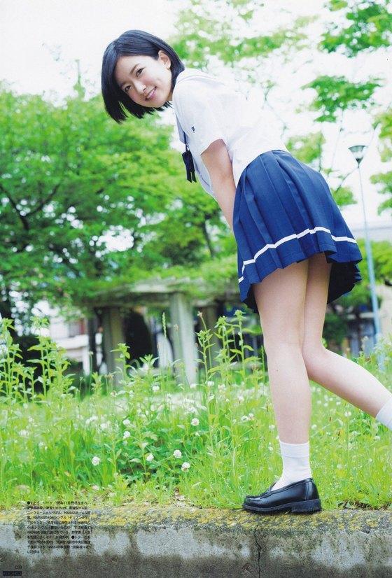 須藤凜々花 UTBのスクール水着谷間強調グラビア 画像29枚 8