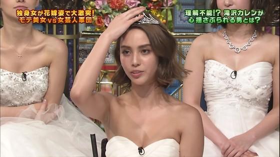 伊藤綾子 さんま御殿のウェディング姿胸チラキャプ 画像30枚 28