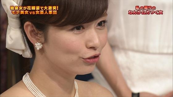 伊藤綾子 さんま御殿のウェディング姿胸チラキャプ 画像30枚 8