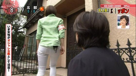 女子アナのパンティラインやむっちりお尻キャプ 画像33枚 1