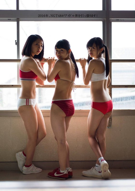 加藤美南 NGT48エースの水着グラビアin週プレ最新号 画像24枚 16