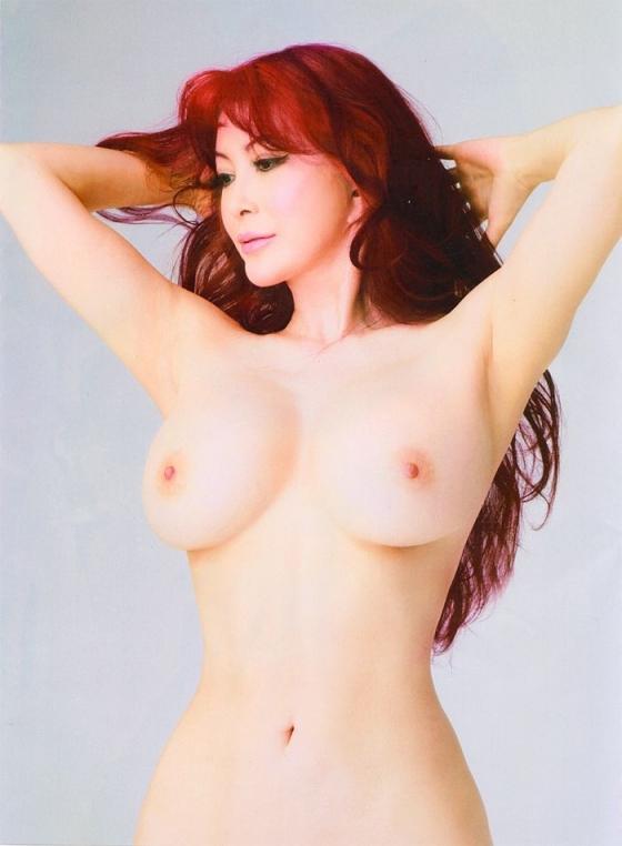 叶美香 ヘアヌードで披露したIカップ爆乳と陰毛 画像21枚 19