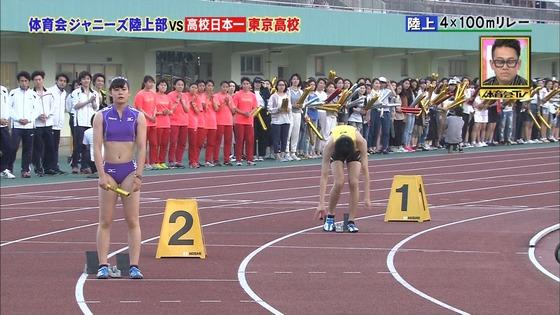 炎の体育会TVのジャニーズvs東京高校女子陸上部キャプ 画像30枚 19