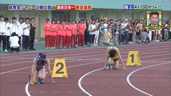 炎の体育会TVのジャニーズvs東京高校女子陸上部キャプ 画像30枚 23