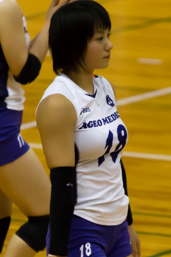 女子バレーボール選手のパンティライン&食い込み 画像24枚 18